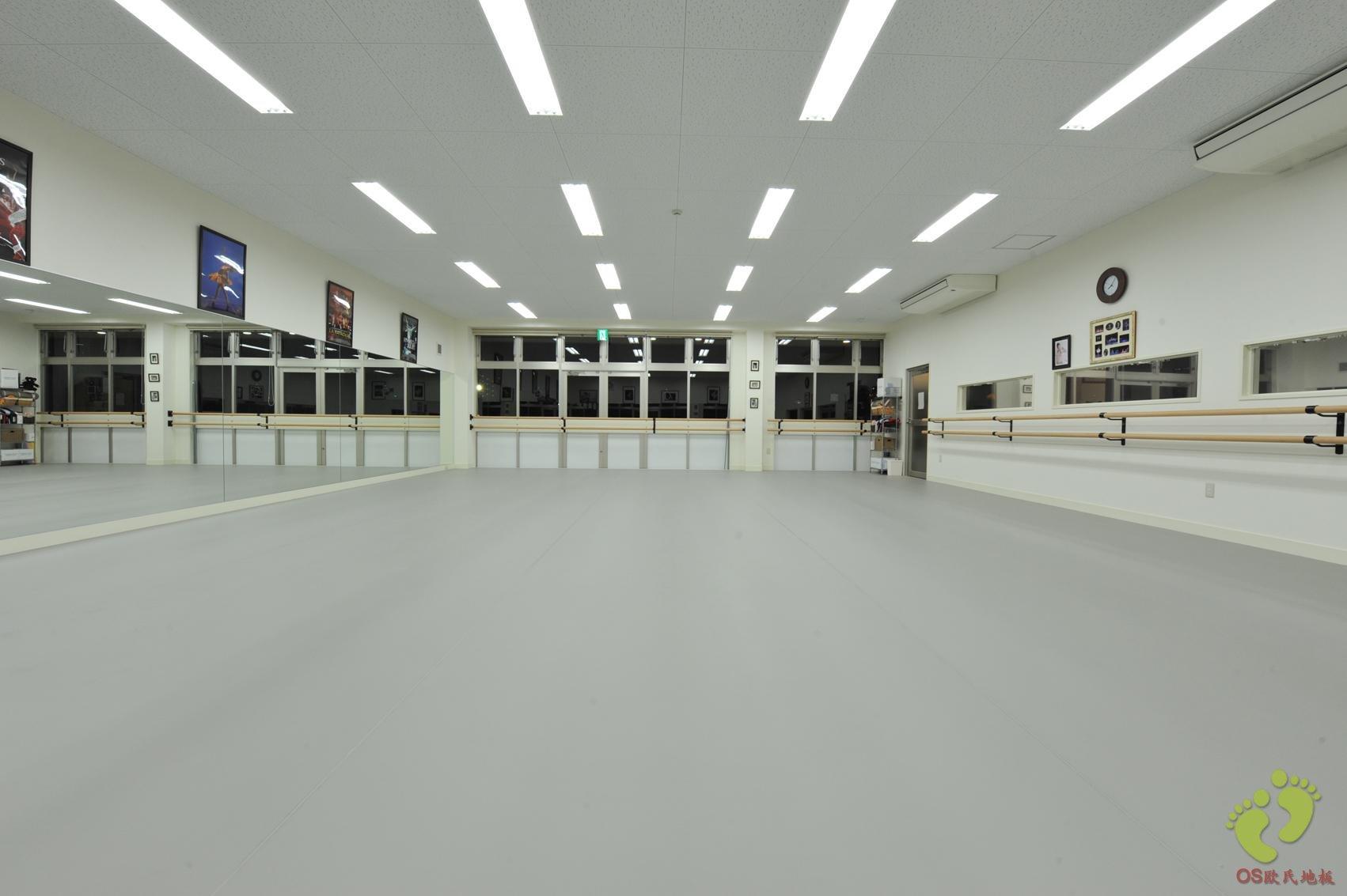 进口灰舞蹈地板胶(进口型)