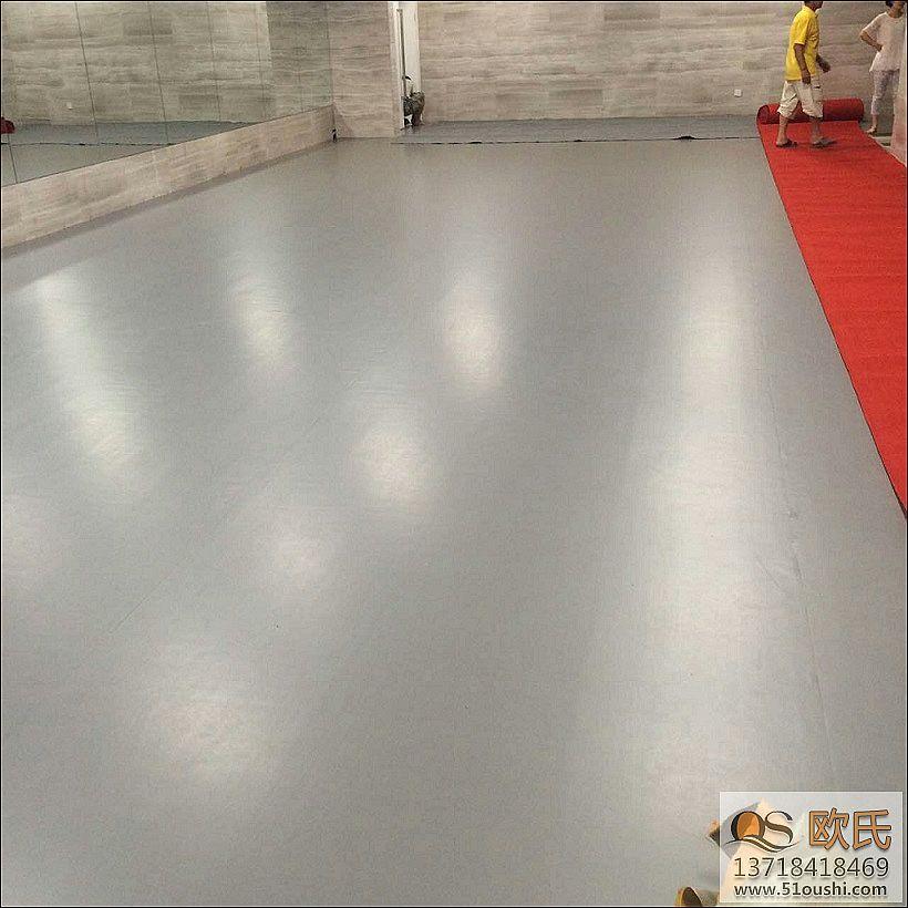 舞蹈房地胶--河南郑州丹尼斯大卫城案例