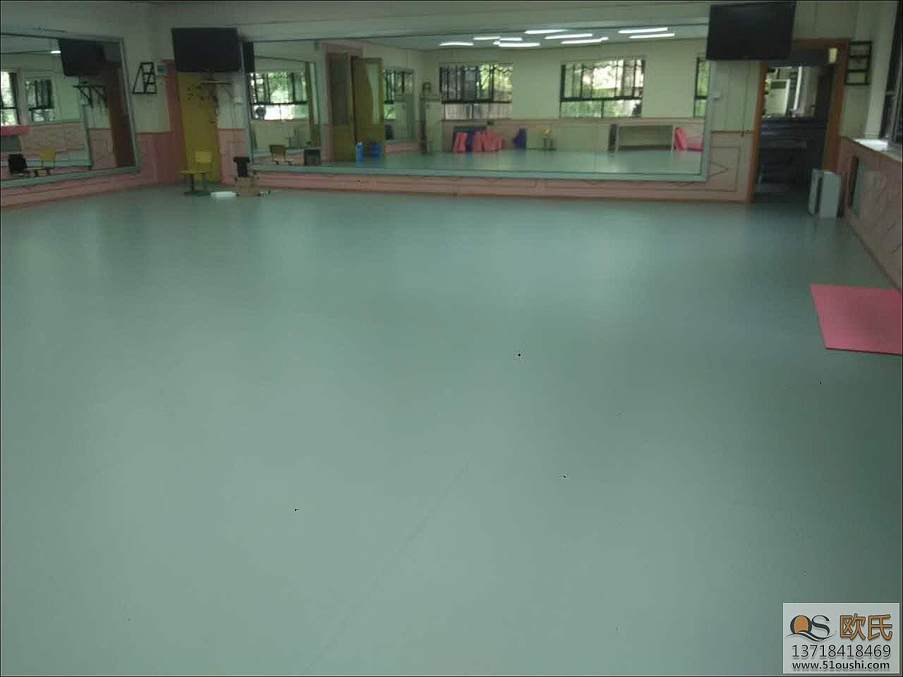 舞蹈室地胶成功案例――北京中关村第一小学